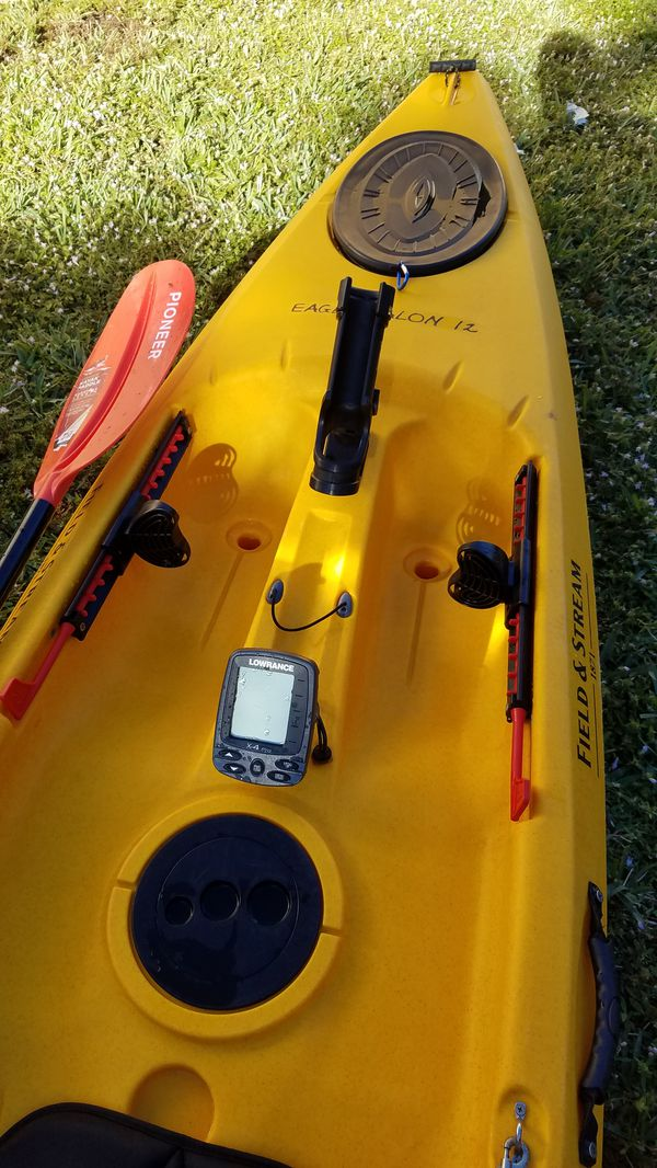 Field And Stream 1871 Eagle Talon 12 Fishing Kayak For Sale In