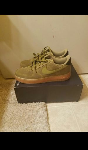 Nike Air Force 1 '07 LV8 Style green size 12 for Sale in Oakland, CA
