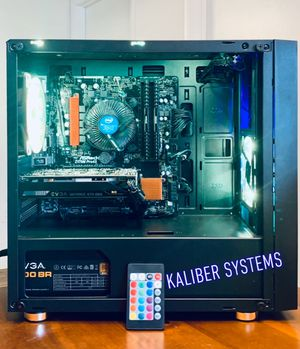 Custom Gaming Computer with Intel i5 6600K, 1060 GTX, 128GB SSD/1TB HDD for Sale in Lake Worth, FL