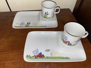 Disney Porcelain Plate and Cup for Sale in Portsmouth, VA