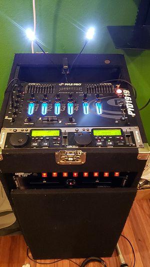 Make offer DJ system numark mixer Pyle PYD1919 for Sale in Uhland, TX