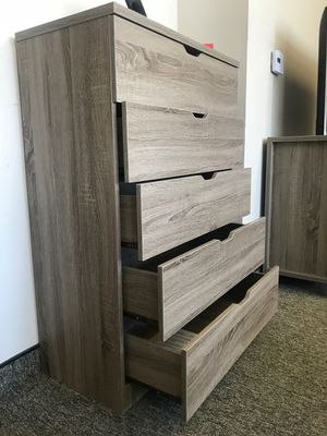 5-Drawer Chest, Dark Taupe for Sale in Santa Ana, CA