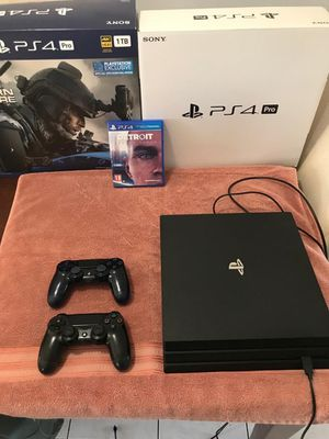 Ps4 PlayStation 4 pro 1 tb 2020 model excellent condition like new for Sale in Mesa, AZ