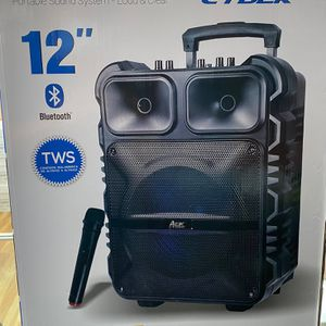 "Trolley Portable Speaker - Portable Sound System AEK CYBER 12"" for Sale in Newark, CA"