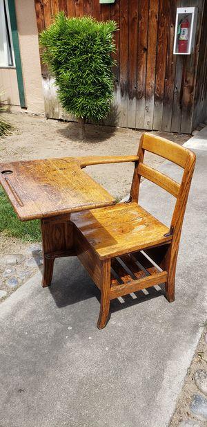 antique school desk for Sale in Fresno, CA