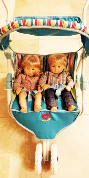 American Girl Bitty Twins Double Stroller for Sale in Atlanta, GA