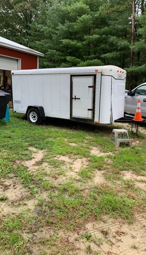 Enclosed trailer for sale Trailer can be viewed today Sunday from 3 to 5 for Sale in Buena Vista Township, NJ