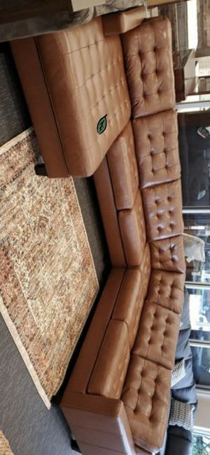 ☑ Special for Black Friday ‼ Baskove Auburn Large Leather LAF Sectional 39 for Sale in Jessup, MD