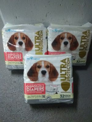 Dog Diapers Size M - 3 New Packs for Sale in Alexandria, VA