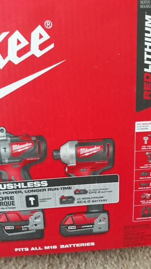 Milwaukee m18 brushless 2-tool combo kit for Sale in Baltimore, MD