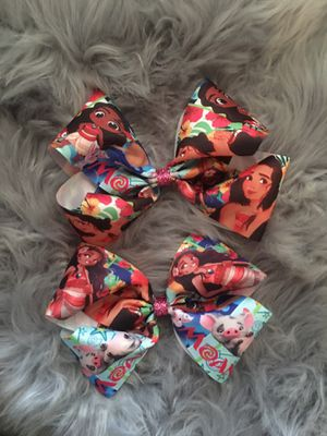 Moana bows can be made in headbands for Sale in San Diego, CA