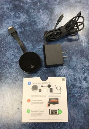 Chromecast Ultra NC2-6A5-D for Sale in Chicago, IL
