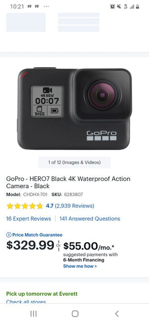 Gopro 7 !!☆☆☆☆☆☆☆I do delivery for Sale in Everett, MA