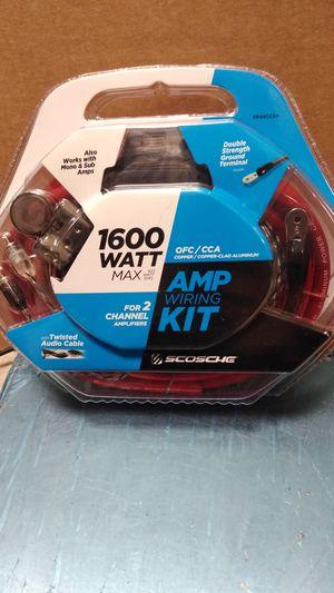 Scosche 1600 watt amp wiring kit for Sale in Philadelphia, PA