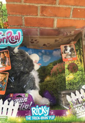 Furreal Friend Ricky the Trick-Lovin' Pup for Sale in Fayetteville, AR