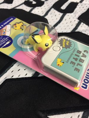 Official Pokemon pichu cable bite Japanese exclusive anime for Sale in San Diego, CA
