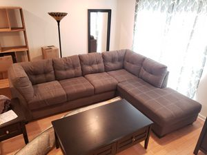 Large Sectional Couch - 1.5 Years Old for Sale in Somerset, NJ