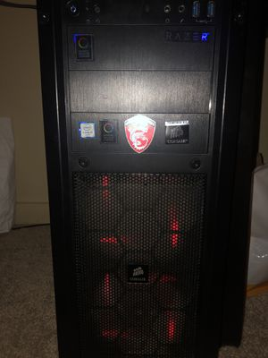 i5 6600k MSI GTX1080 MSI M5 mobo for sale, can sell for parts for Sale in Irvine, CA