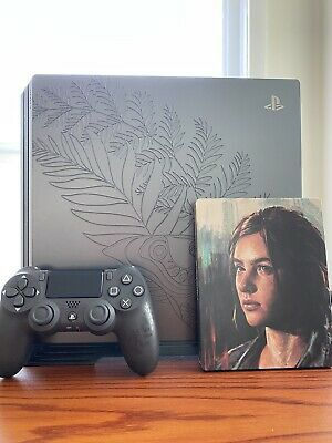 PS4 Pro The Last of Us Part II 1TB Bundle w/ Game, Vertical Stand & Controller for Sale in Tampa, FL