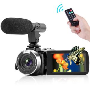 New Camcorder Video Camera FHD 1080P 30 FPS 30.0MP Camcorders with Microphone Night Vision Vlogging Camera HDMIOutput with Remote Control for Sale for sale  Brooklyn, NY