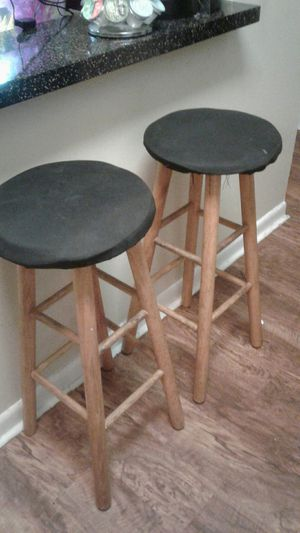 2 wooden stools $10 for Sale in Casselberry, FL
