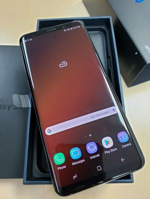 """Samsung Galaxy S9 plus 64GB FACTORY UNLOCKED"""" Like new with warranty for Sale in Silver Spring, MD"""