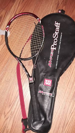 Hyper Pro Staff hyper carbon tennis racket for Sale in Durham, NC