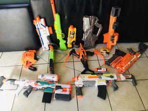 NERF GUNS - read information! for Sale in Las Vegas, NV