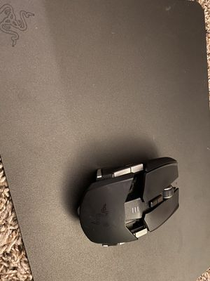 """Razer mouse pad and mouse """" Ouroboros"""" for Sale in Houston, TX"""