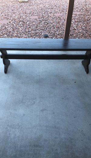 Wooden bench for Sale in North Las Vegas, NV