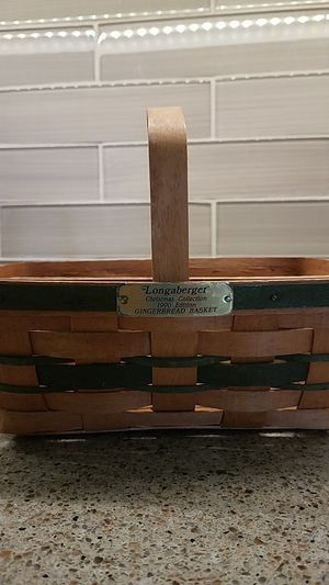 Longaberger 1990 Gingerbread Basket for Sale in Gibsonia, PA