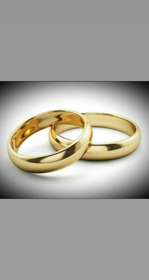 Stainless steel wedding rings on sale for Sale in Queens, NY