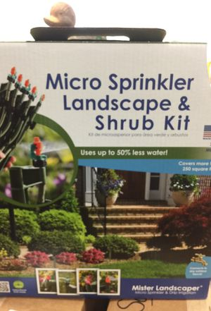 Mister Landscaper Micro Sprinkler & Drip Irrigation Landscape & Shrub Kit for Sale in Davidson, NC