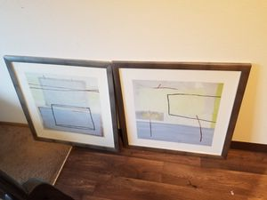 30x30 picture pair for Sale in Vancouver, WA