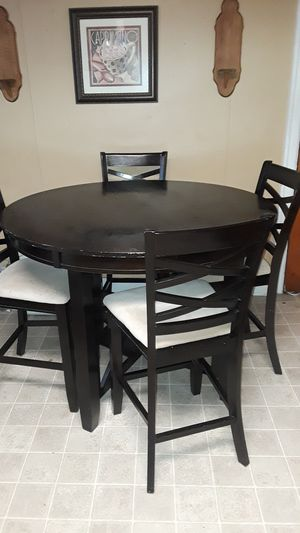Table and 4 high chairs for Sale in Harrisburg, PA