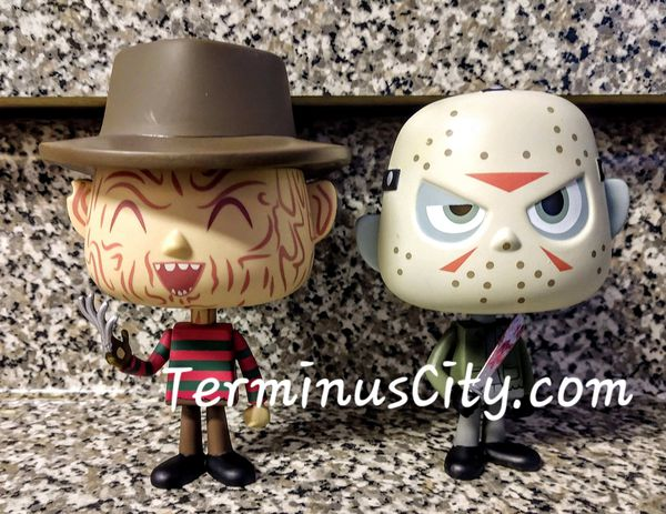 Freddy Krueger Jason Voorhees Friday The 13th Horror Movies Set Nightmare On Elm Street Monsters Toys Vynl Pop Funko Collectible Halloween OFFERS