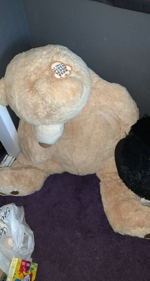 53 inch plush teddy bear almost brand new for Sale in Escondido, CA