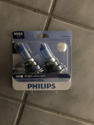Philips CrystalVision Ultra headlights - 9004 for Sale in Chicago, IL