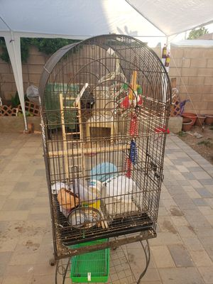 Black bird cage for Sale in Fullerton, CA