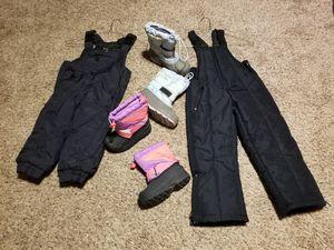 Toddler/ Little Girl Snow Gear for Sale in Modesto, CA