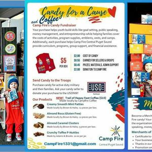 Camp Fire Candy & Coffee fundraiser for Sale in Auburn, WA