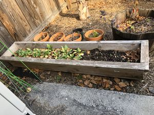 Long outdoor planter - in excellent condition for Sale in Washington, DC
