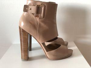 "Nine West Leather Shoes, 4 1/2 "", 1/2 "" platform for Sale in Miami, FL"