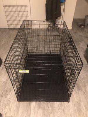"""TOP PAW 42"""" Double Door Folding Dog Crate for Sale in Virginia Beach, VA"""