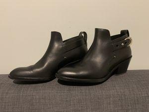 Rag&Bone 37.5 Black Leather Booties for Sale in Boston, MA