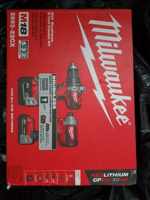 Milwaukee 2893 -22CX .Brand new.Price firm... for Sale in Renton, WA