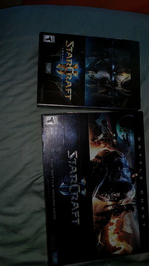 StarCraft 2 and Legacy of the void expansion pack for Sale in Seattle, WA