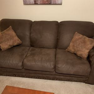 3 Piece Furniture Set. Couch, Love Seat, Chair W/ Bonus Recliner for Sale in McDonough, GA