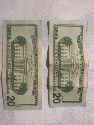 $20 Bill Ink problem ( Only one ) for Sale in Seattle, WA