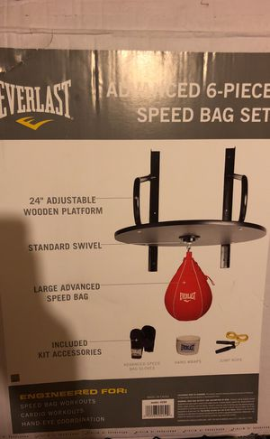 6 piece speed bag set for Sale in New York, NY